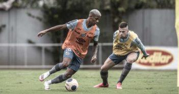 Elenco do Peixe segue treinando forte no CT Rei Pelé (Foto- Ivan Storti: Santos FC)