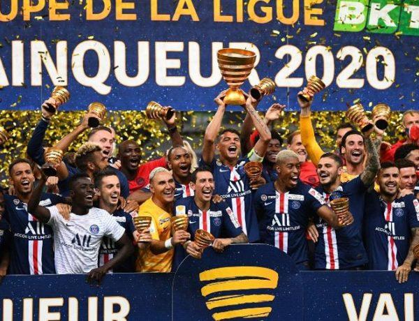 PSG derrota o Lyon nos pênaltis e conquista a Copa da Liga Francesa