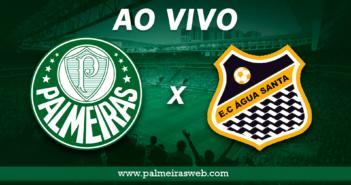 Palmeiras x Água Santa assistir ao vivo