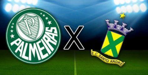 Assistir Palmeiras x Santo André ao vivo – escalações, desfalques e arbitragem