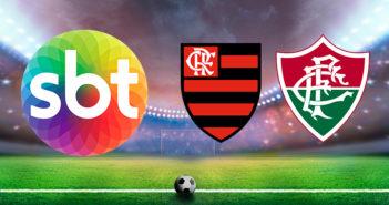 SBT transmite ao vivo o jogo entre Flamengo e Fluminense Final Carioca