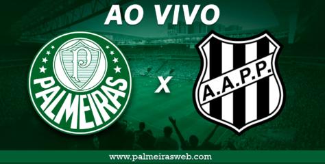 Assistir Palmeiras x Ponte Preta ao Vivo horário, escalações e arbitragem