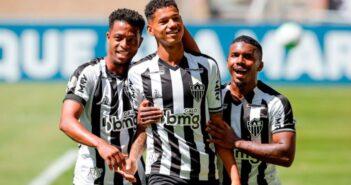 Atlético-MG bate Ceará com dois gols de Marrony e segue 100% no Brasileirão