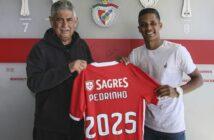 Benfica inscreve Pedrinho e Corinthians espera receber valor total da venda em até 10 dias