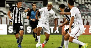 Botafogo e Fluminense ficam no empate em amistoso