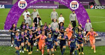 Champions Lyon mantém hegemonia no futebol feminino e conquista a Europa pela quinta vez consecutiva