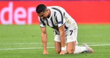 Cristiano Ronaldo marcou dois gols, mas não evitou eliminação da Juventus na Liga dos Campeões