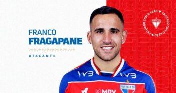Franco Fragapane é anunciado como novo reforço do Fortaleza