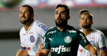 Goleiro Weverton falha, e Palmeiras cede empate ao Bahia nos acréscimos