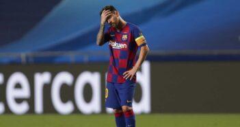 Messi comunica ao Barcelona que quer deixar o clube imediatamente, diz jornalista