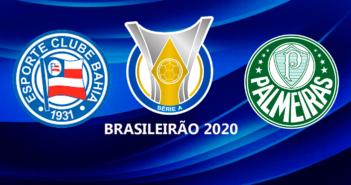 Palmeiras visita o Bahia em duelo direto na tabela de classificação do Brasileiro
