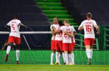 RB Leipzig vence Atlético com gol no fim e encara PSG de Neymar na semi