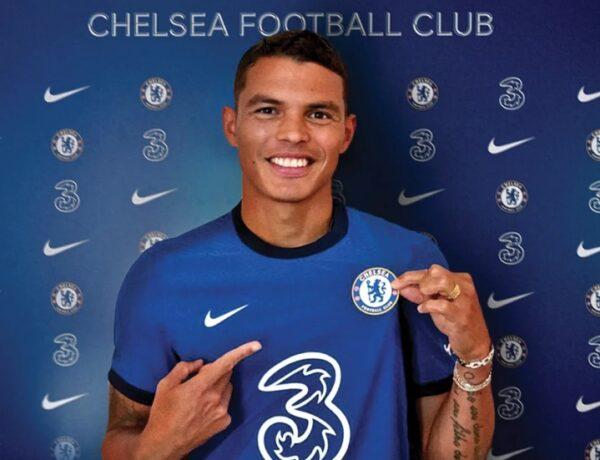 Thiago Silva é oficialmente anunciado pelo Chelsea