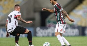 Com um a menos, Fluminense cede empate ao Atlético-GO no Maracanã