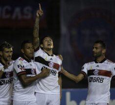 Flamengo desencanta em Salvador e atropela o Bahia pelo Campeonato Brasileiro