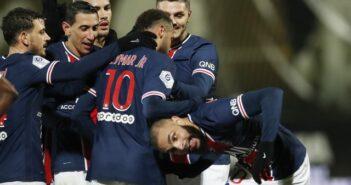 PSG e Angers Campeonato Francês