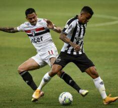 São Paulo e Atlético Mineiro tropeçam no Brasileirão 2020