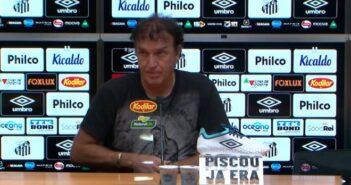 Cuca, treinador do Santos - Imagem: Divulgação