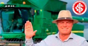 Elusmar Maggi - forte plantador de soja e torcedor colorado - Imagem: Divulgação