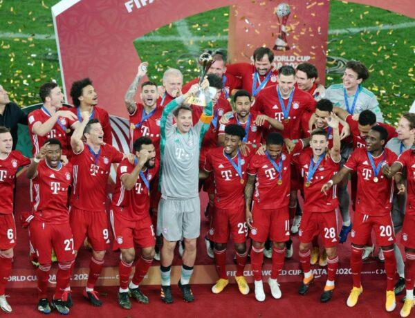 Bayern de Munique campeão do Mundial de Clubes da FIFA!