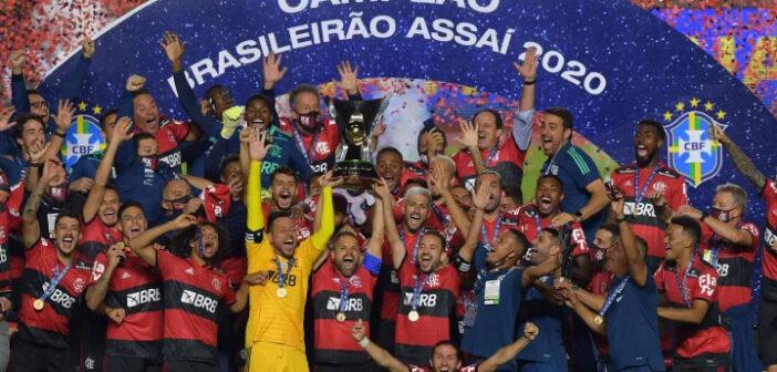 Flamengo Campeão Brasileiro 2020 - Brasileirão