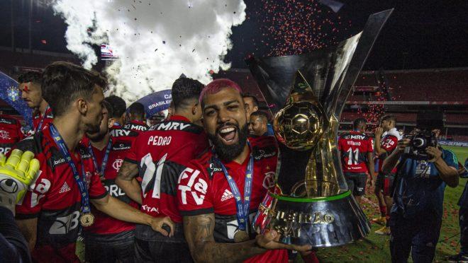 Gabigol Flamengo Campeão Brasileiro 2020