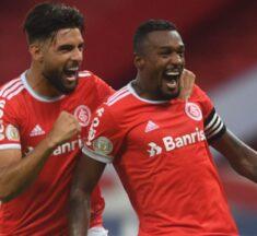 Internacional vence Bragantino pênalti polêmico e bate recorde de vitórias