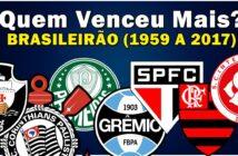 Quem Venceu Mais Brasileirão