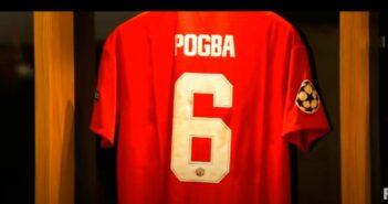 Pogba, meio campista do Manchester United - Imagem: Divulgação