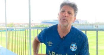 Renato Portaluppi, técnico de futebol - Imagem: Divulgação