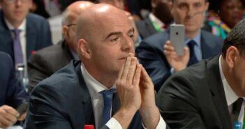 Gianni Infantino, presidente da FIFA - Imagem: Divulgação