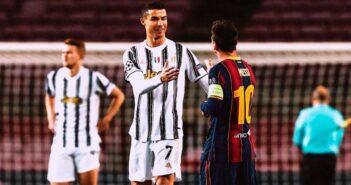 Cristiano Ronaldo e Messi - Imagem: Divulgação