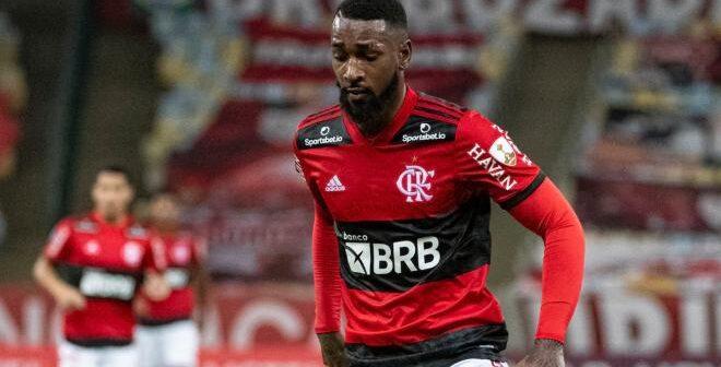 Gerson, volante do Flamengo- Imagem: Divulgação