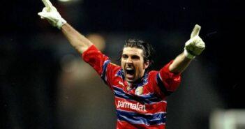 Gianluigi Buffon, goleiro do Parma - Imagem: Divulgação