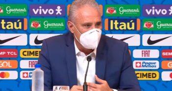 Tite, treinador da seleção - Imagem: Divulgação