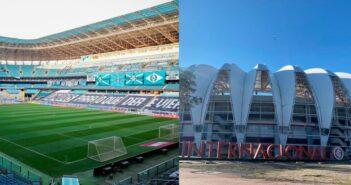 Estádios da dupla GreNal - Imagem: Divulgação