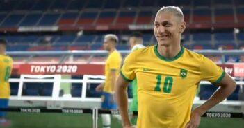 Seleção Brasileira nas Olimpíadas - Imagem: Divulgação