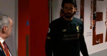 Alisson, goleiro do Liverpool - Imagem: Divulgação